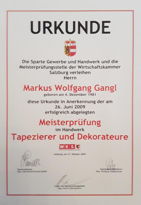 Raumausstatter Salzburg tapezierer tulln maler neulengbach raumausstatter gangl